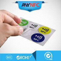 Wholesale NFC Tag Sticker Ntag203 for Sony Samsung Lumia920 Nexus4 BlackBerry HTC