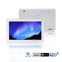 Wholesale Tablet PC iRuLu quot Quad Core Android4 Tablet PC MTK8127 Dual Camera Capacitive GB G HDMI GPS inch Tablets DHL free