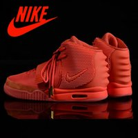 Cheap Nike air yeezy 2 Red October Shoes Basketball Shoes Mens West Trendy shoes sneakers Nike Mens Basketball Shoes 2016