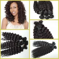 indian remy weave - Deep Curly Wigs Indian Deep Wave Extensions Virgin Curly Hair Unprocessed Indian Remy Human Hair Extension Weaves Weft