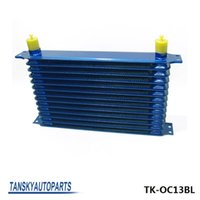 aluminium gearbox - High Quality rows mm thick aluminium universal TRUST DESIGN engine or gearbox oil cooler TK OC13BL