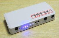 Wholesale 15000mAh Multi Function Power Tools Car emergency start power Jump Starter Mobile phone Laptop External Rechargeable Battery