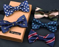 Wholesale High grade children tie British style baby boy double small baby essential tie bow tie performance bow tie