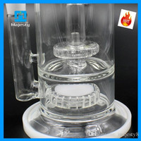 2015 Plus récent Recycler Verre Bong Water Pipe Oil Rig Pipette Bubbler Narguilé l'articulation 18mm Inline Percolator