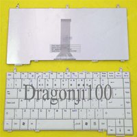 Wholesale UK Layout laptop keyboard for MSI VR330X LG K1 WHITE