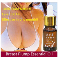 Wholesale Breast Plump Essential Oil ML Plant Natural Effective Breast Grow Up Big Busty Powerful Breast Enlargement Massage Oil