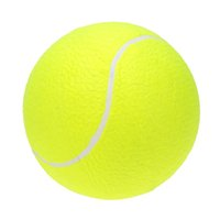 Wholesale 9 quot Oversize High Resilience Rubber Kids Playing Pet Training Tennis Ball ElasticTranning Exercise Practice Tennis Balls
