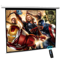 Wholesale Cynthia High Definition Matte White Electric Projector Screen High Gain Projector For Motorized Projector Screen