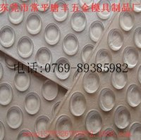 Wholesale Supply of transparent silicone mat transparent Ottomans circular transparent silicone mat M transparent semicircle Ottomans