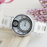 Wholesale Fashion Iced Out Hip Hop Watches Slim Cezch Stone Sterling Silver Wrist Watches Trend Big Sport Casual Wrist Watches for Men