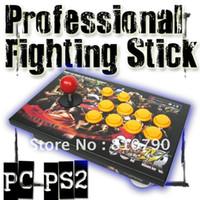 arcade stick controller - Pro Fighting Stick RYC FB Arcade Joystick buttons for PC PS2 joypad game controller game joystick