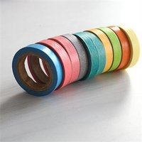 Wholesale 2015 New Fashion x Rainbow Sticky Tape Paper Brand DIY Masking Adhesive Decorative Tape Scrapbooking