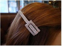 best cheap ornaments - Hair Jewelry New best sellers Square hair clip hair ornaments edge clip word folder Hair Clips Barrettes cheap