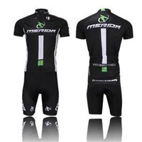 Wholesale summer New Arrival Merida Cycling jersey set Cycling with Cycling short sleeve jersey Bib Shorts