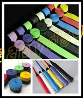 Wholesale NEW badminton overgrip sweatband Sweat absorbent non slip grip racquet overgrip tennis grip squash racket overgrip