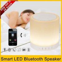 audio levels - Portable Wireless Speaker Smart Led Bluetooth Speaker Mini Touch Lamp Portable Speaker Three Levels RGB Light Touch Lamp Music Play Lamp