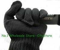 Wholesale 100parirs authentic AAAAA thickening puncture proof gloves Wear resisting tactical wire gloves Upgrade of reinforced