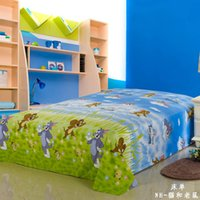 bedsheet designs - New Design cartoon pattern nature cotton printing Bed Sheet cm twin size