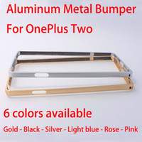 Cheap oneplus two bumper Best oneplus two metal bumper