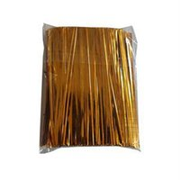 Wholesale Top quality About CM Metallic Twist Tie Stylish Trendy Cello Candy Bag Steel Twist Rope Tie