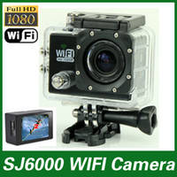 hd digital camera - New SJ6000 WIFI Action Camera P Full HD Waterproof Camcorders inch LCD Screen digital Camera SJ6000 videocamera Sport DV