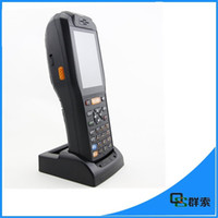 Wholesale 2015 newst android os D Barcode Scanner Speedata handled PDA with thermal printer g wifi bluetooth nfc rfid pos terminal d scanner