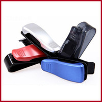 Cheap Universal Fashion Sunglasses Clip Eyeglasses Holder In Car Auto Vehicle Visor Glasses Holder Clip For Business Bank Card Ticket