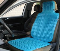 Wholesale Automotive summer cool mats car plastic breathable cushions Universal mat summer essential Summer office seat cushion