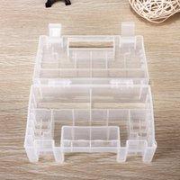 Wholesale Hot Sale Best Promotion Translucent Hard Plastic Case Holder Storage Box for AA AAA C Battery New Price