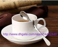 Wholesale 200pcs Stainless steel Twisted handle Curved Tea Coffee Drink Condiment Spoon Teaspoon V handled Honey jam DHL Fedex Free