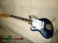 Solid Body blue guitar - Left Handed Guitar Blue Jaguar Electric Guitar Guitars Top Musical instruments