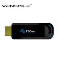 Ezcast 5G Mejor Smart TV Dongle del palillo Miracast HDMI Espejo2 TV Airplay DLNA para android ventana ios sistema operativo mejor que el androide de la TV