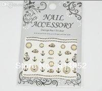 adhesive anchors - Anchor Nail Designs Adhesive D Nail Stickers Decals Nail Art Decoration