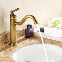 baths and basins - vintage faucet antique finishing brass taps bath mixer basin faucets hot and cold torneiras vintage A F007