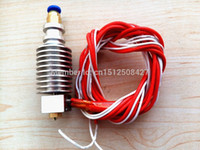 Wholesale All Metal hotend for ABS PLA For E3D or j head type filament extruder mm mm nozzle