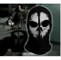 call of duty - New call of duty X Ghosts Mask Outdoor Cycling Bike Motorcycle Windproof Mask CS Game Face mask Protagonist DH04