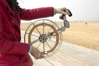 Wholesale stainless steel strap round kite reel shipping special choice for large kite
