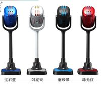 Wholesale Brand New Podcast Studio Wired Desktop Microphone MIC Conference Webcast Video for Laptop Computer Karaoke Microphone Color