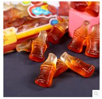 Wholesale g bag Bags Germany Import Food Trolli Shelf Life Cola bottle Style Soft Rubber Candy Snack Food
