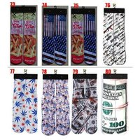 Cheap In Stock Fashion Stockings ODD Socks Animal Printed Fahion stockings Hip-hop Dance Young People Rap Socks 1 Pair Freeshipping