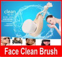 acne body wash - Soft Facial Fiber Mild Face Clean Wash Deep Pore Cleansing Brush Sandalwood Head Nature Massager Brush Hands Body Skin