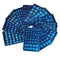 Cheap Wholesale-Metal Nail Art stamping Kit DIY Texture Image Print Template Plate