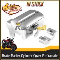 Wholesale Motorcycle Chrome Reservoir Brake Master Cylinder Cover Yamaha V Star Motorbike Motor Bike Part