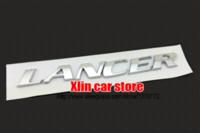 accessories lancer - 2015 Newest D Mitsubishi LANCER logo Chrome ABS Car Stickers rear trunk Emblem Badge accessories sticker border