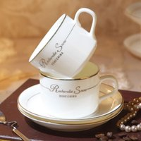 ceramic cup and saucer - Fashion bone china coffee cup set quality ceramic coffee cup ceramic coffee cup and saucer spoon
