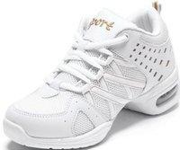 Venta al por mayor-libre del envío 2015 Nueva Superiores de superficie neta blancas modernas de la gimnasia de la aptitud de salto zapatos de la raya de la marca mujeres de moda casual WX20