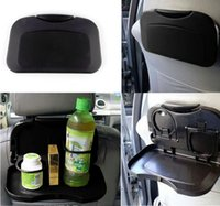 Wholesale F00050 Durable Foldable Car Auto Dining Table Car Back Seat Meal Drink Tray Desk Water Drink Holder Cup Bottle Stand Mount Good Quality