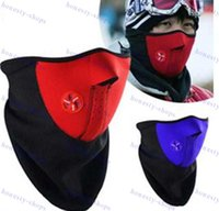 Wholesale Neoprene Snowboard Ski Cycling Face Mask Neck Warmer Bike Bicyle ski mask mixed colors