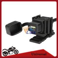 utv - 12V Motorcycle Dirt Bike USB Charger Power Adapter v GPS MP3 Mobile Phone USB Charging for Automobile Snowmobile ATV UTV