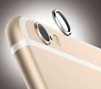 Wholesale iPhone Metal Ring Camera Protection Golden Silver Black Color Unique Design iPhone Plus Accessories Hot Sale